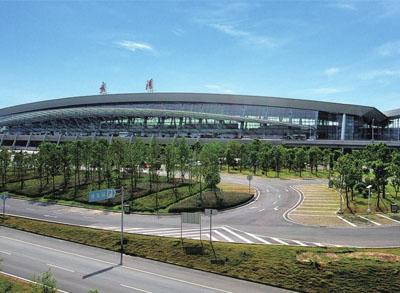 天津滨海国际机场航站楼高架桥工程